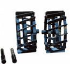Utilaje Gradina Accesorii/Motocultoare Set 2 roți metalice